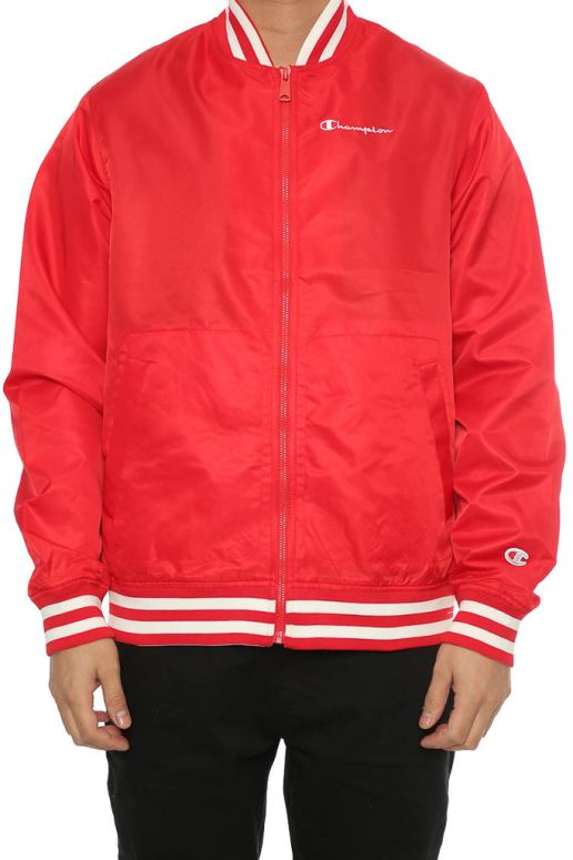 Champion Lifestyle Jacket Red – Culture Kings