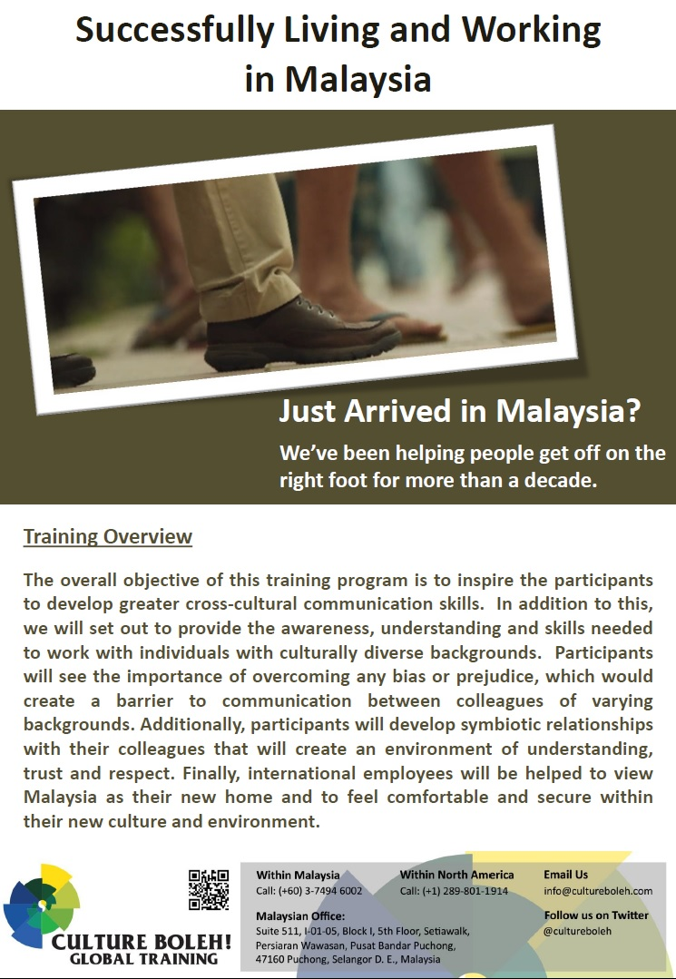 Successfully Living & Working in Malaysia (English)