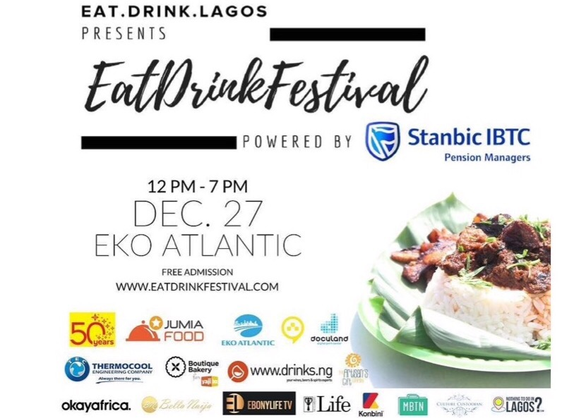 Eko Cuisine Eat Drink Lagos Presents The 3rd Edition Of Eatdrinkfestival On
