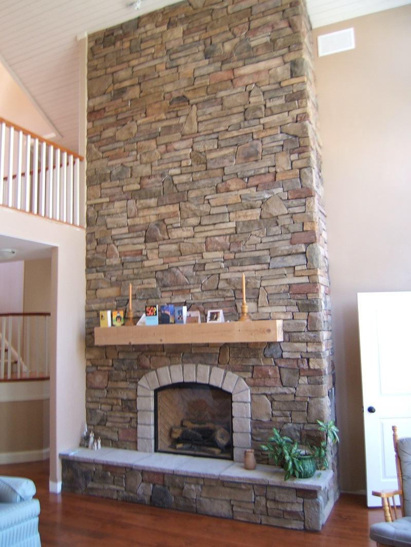 Installing Cultured Stone Fireplace Cultured Stone Fireplaces The Cultured Stoners