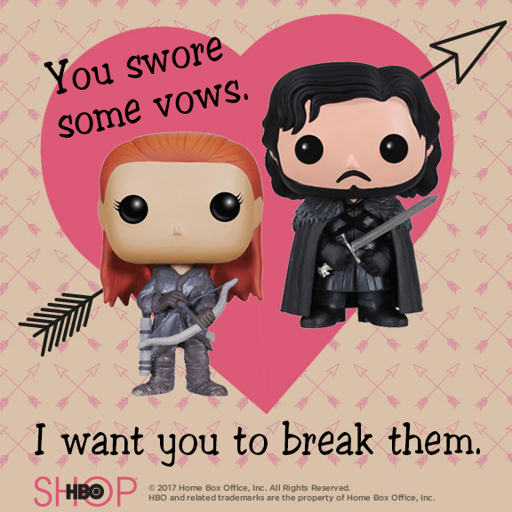 Free, Downloadable Game of Thrones Valentine\u0027s Day Cards