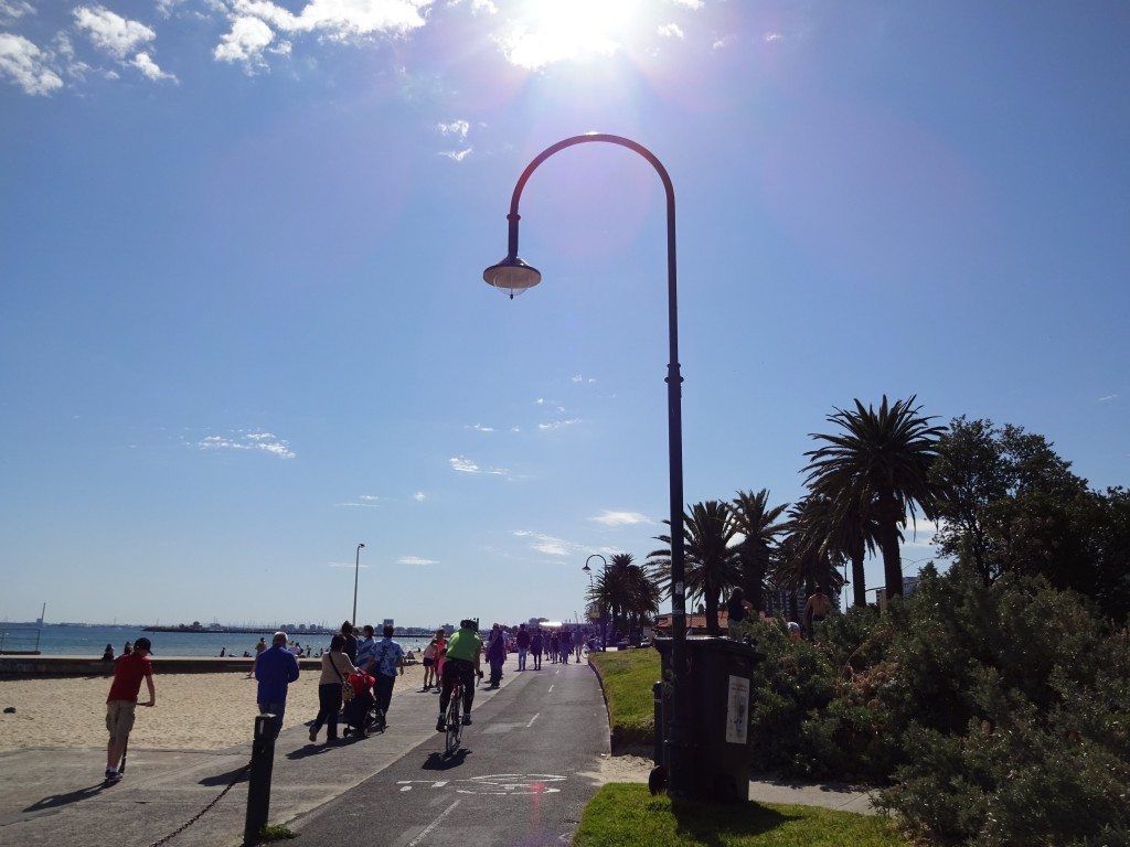 Bike Path St Kilda