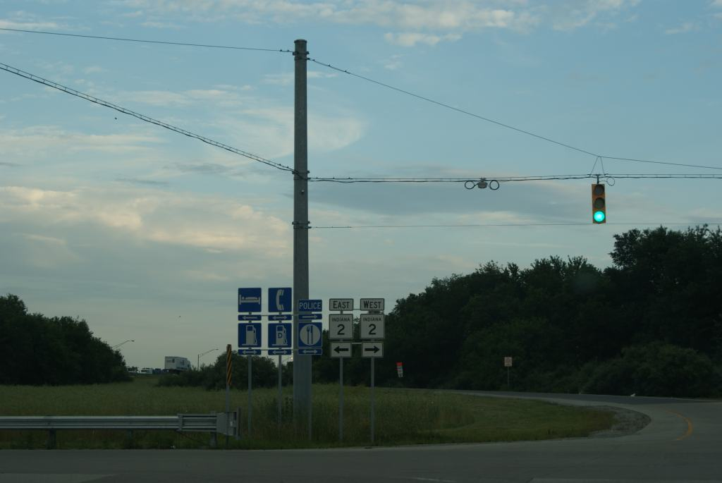 Road Signs, Indiana