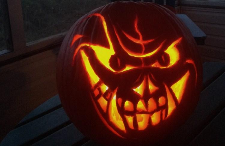 Jack-o'-lantern masterpiece