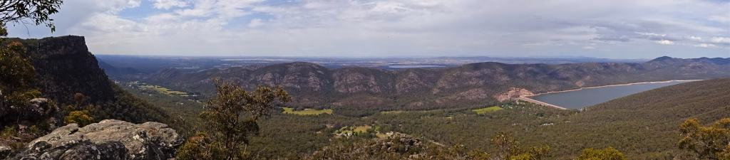Lakeview Lookout in the Grampians National Park, Australia