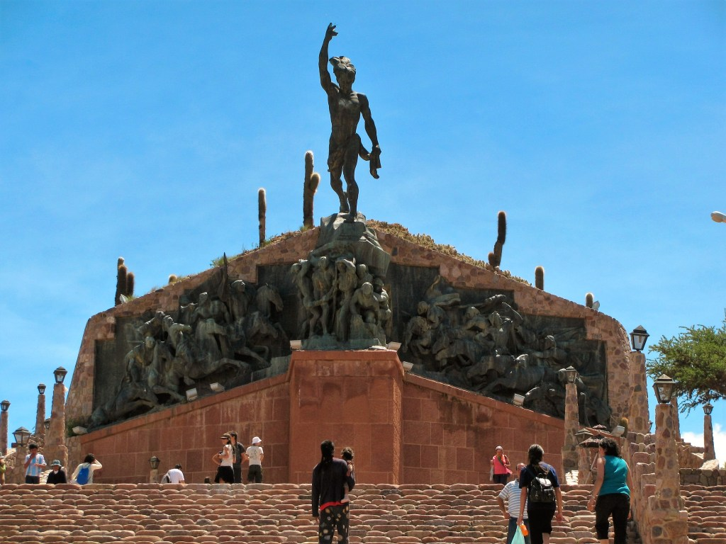 Monument to the heroes of the Independence, Humahuaca, Argentina