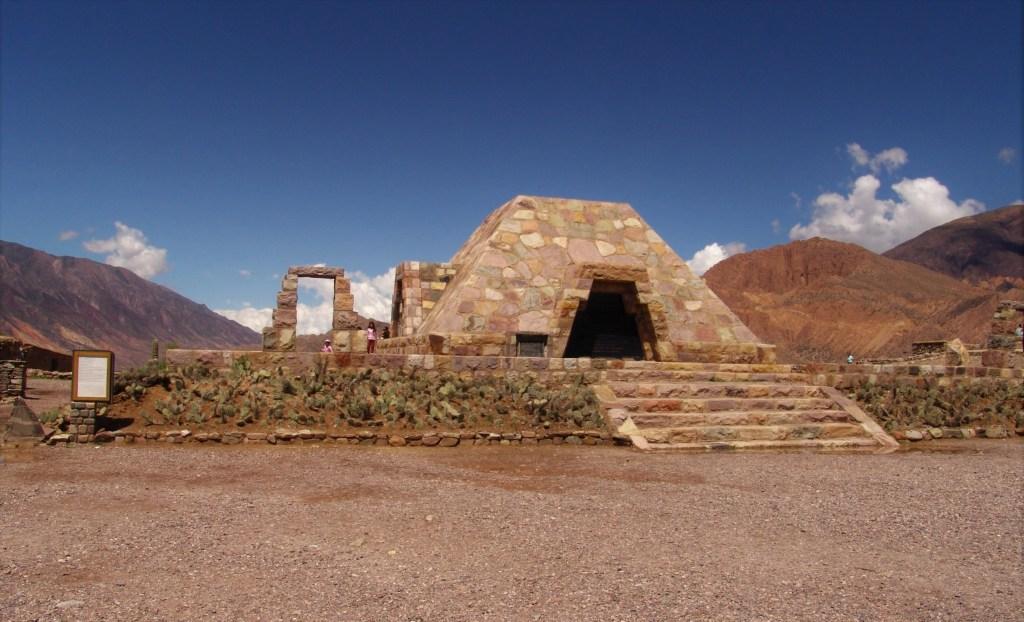Pucara de Tilcara, a pre-Incan fortress in the Quebrada de Humahuaca, Argentina
