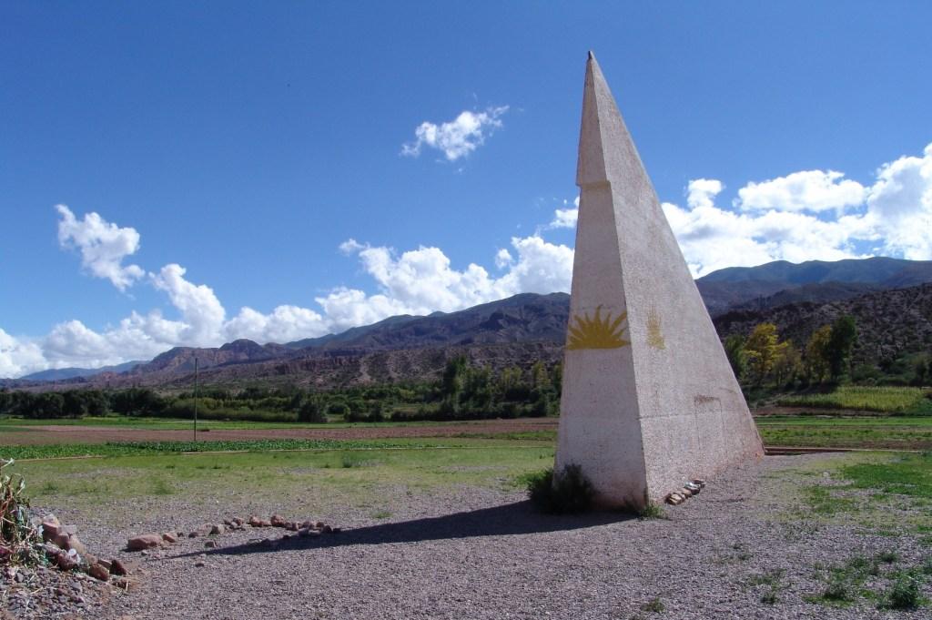 Sun monument at the Tropic of Capricorn, northwestern Argentina