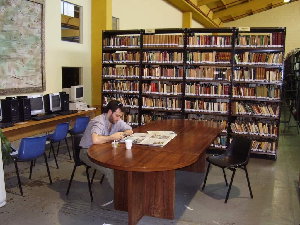 Library of Universidad Torcuato di Tella, Buenos Aires