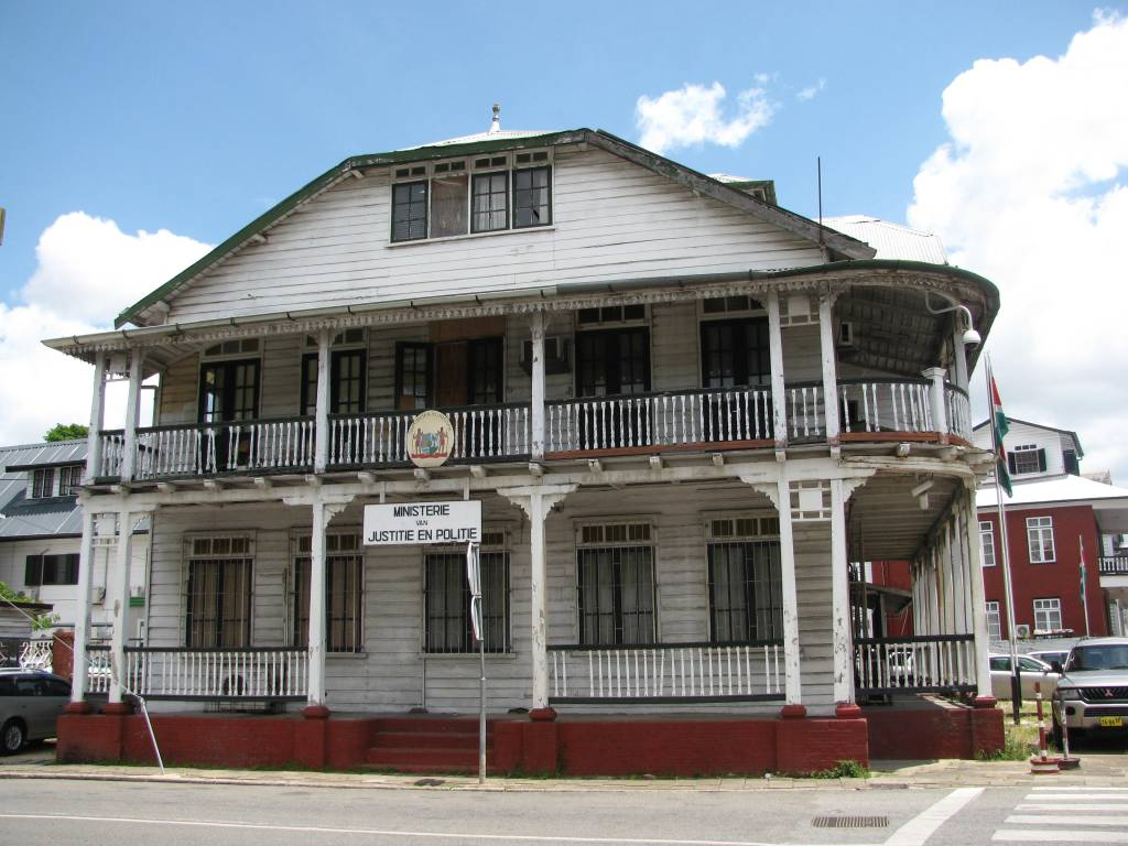 Ministry of Justice and Police in Paramaribo, Suriname