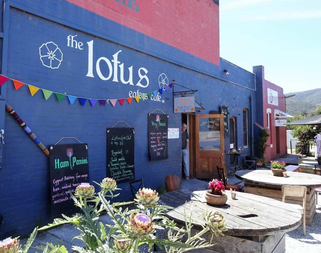 Lotus Eatery, Cygnet, Tasmania-min