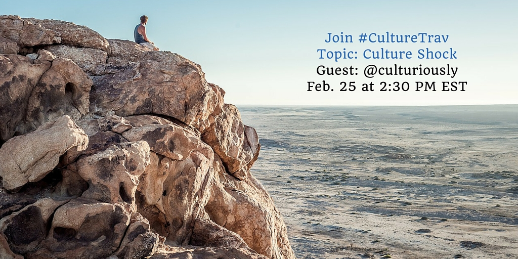 #CultureTrav Twitter Chat on Culture Shock