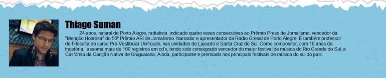 Colunista Thiago