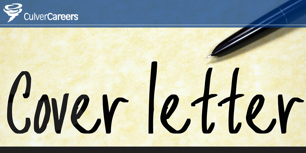 Avoiding Costly Cover Letter Mistakes CulverCareers