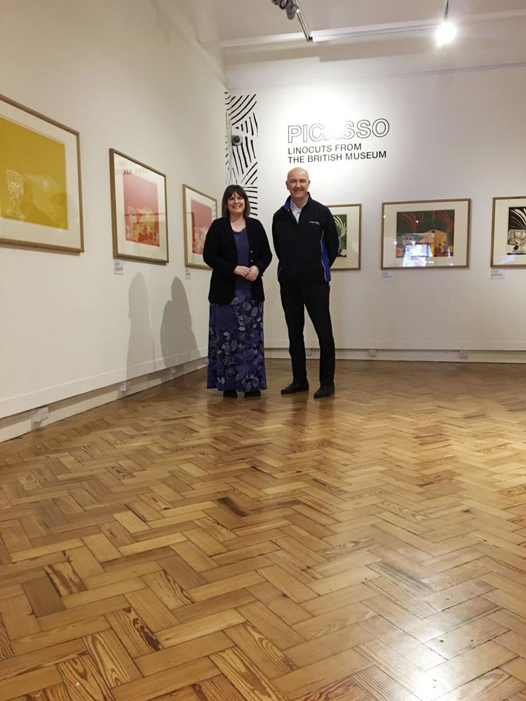 New Breath Of Life For Art Gallery Floor A Cumberlidge
