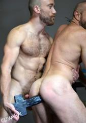 Fucking HA-PEN-IS slow and sensual sacred gay sex