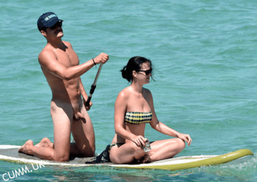 Orlando Bloom Naked Paddle Boarding Pictures With Katy Perry