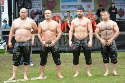 anatolian cultural fete turkish-national grease wrestling team