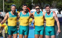 best olympic bulges australian rowing team