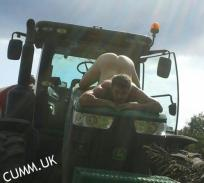 farmers son arse exposed