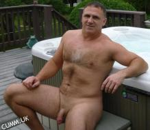 great outdoors sexy mature silver daddy