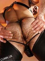 hairy arse leather chaps