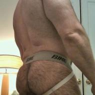 most beautiful hairy daddy man arses