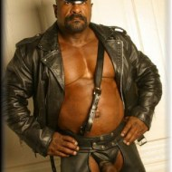 soft cock mr leather man