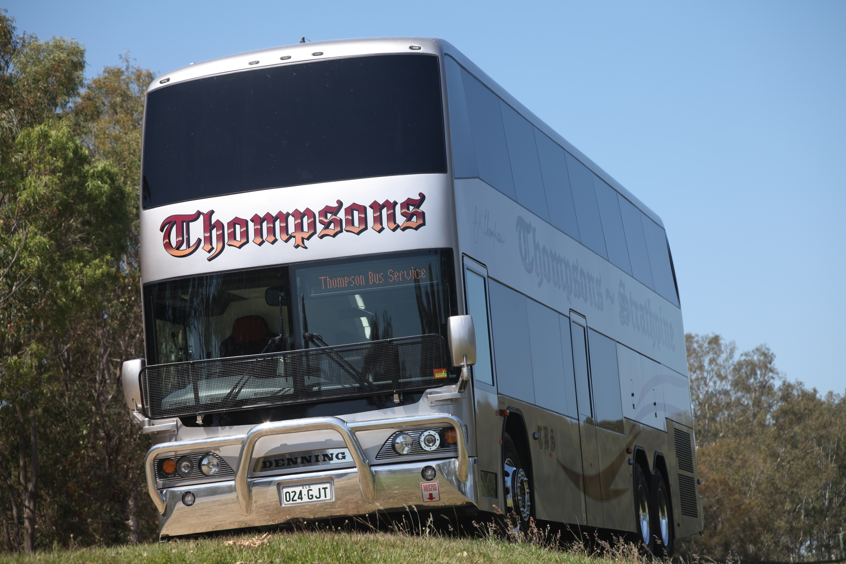 Cummins powered denning double decker is impressing at thompsons