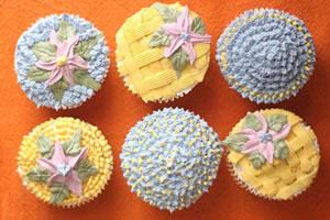 Cupcake Icing Decorating Ideas