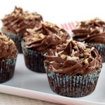 Chocolate Italian Wedding Cupcakes