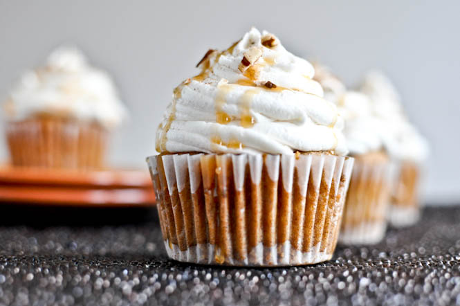 Sweet Potato Pie Cupcakes