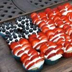 Berry Flag Pull Apart Cake