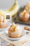 Caramel Banana Cupcakes