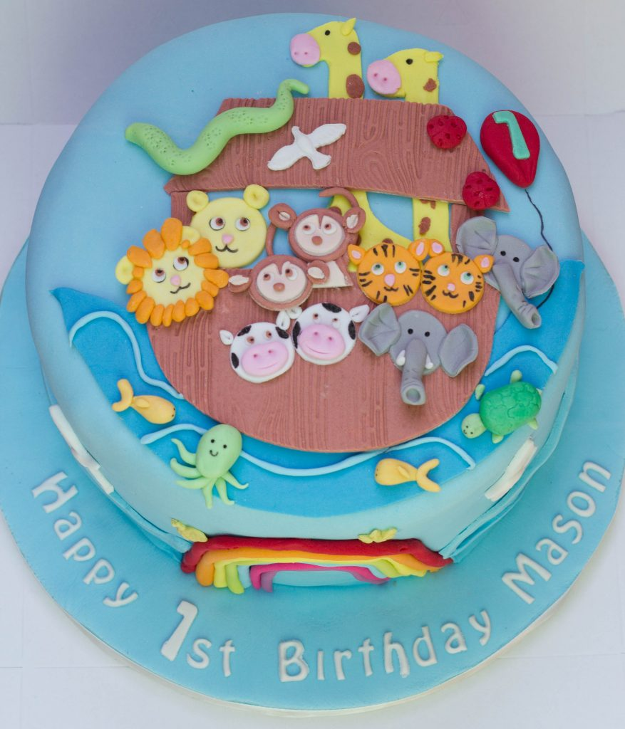 Ark Kuchen Noah S Ark Themed Cake Cupcake Kitchen