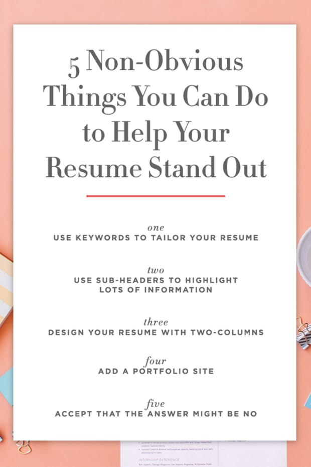 The Single Biggest Mistake You Can Make on Your Resume - Cupcakes