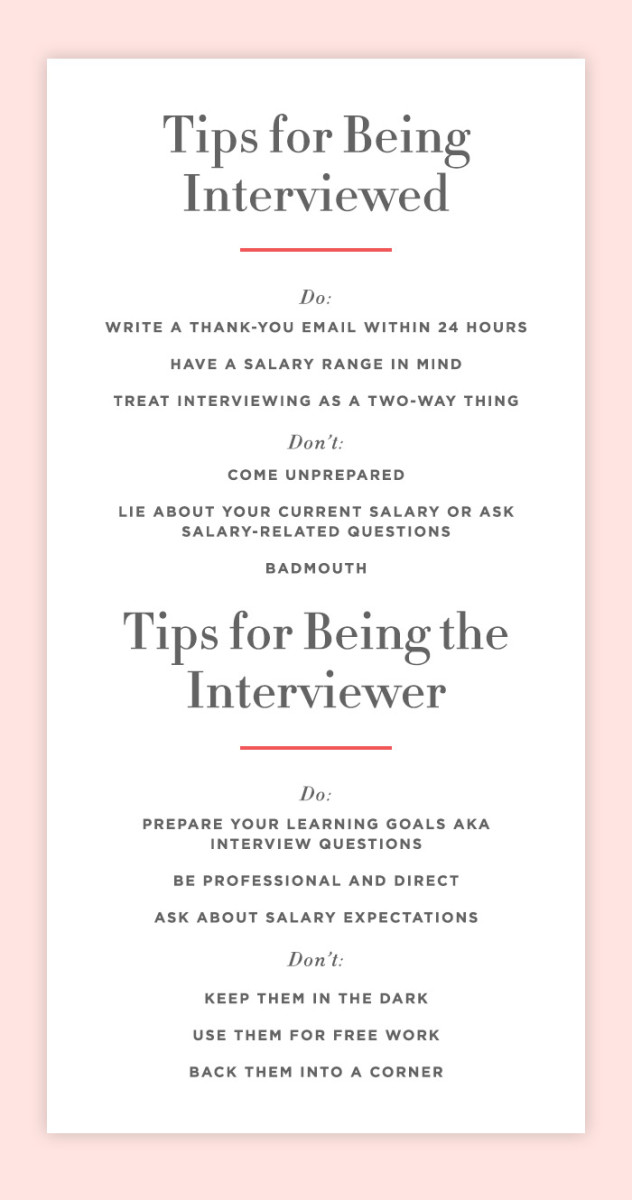Tips Every Interviewer (and Interviewee) Should Know - Cupcakes