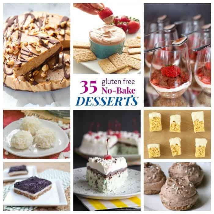 35 Gluten Free No Bake Dessert Recipes - Cupcakes  Kale Chips - easy bake sale goodies