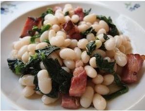 白いんげんの豆サラダ