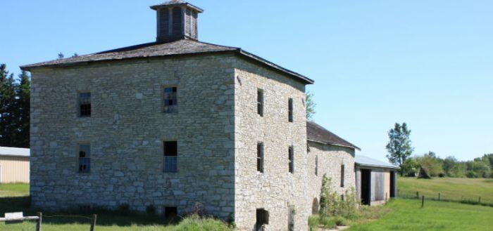 Cooper's Barn by Charles City Iowa