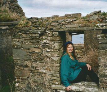 Doolin derelict cottage