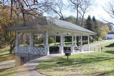 gazebo in Grant Park