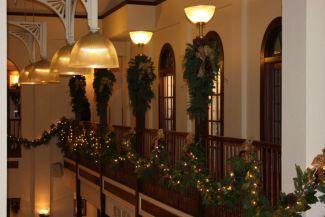 Galena's DeSoto House Courtyard Restaurant