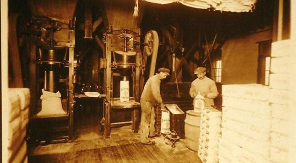 inside the Hain Mill