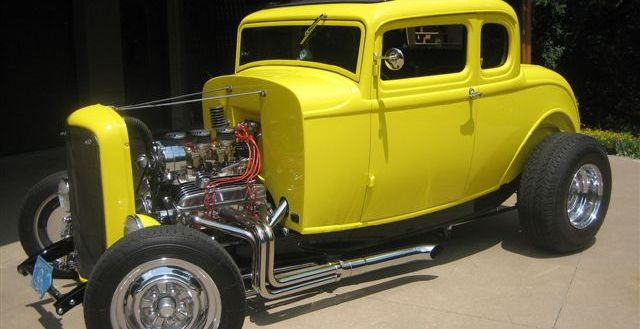 1932 five-window Deuce Coupe