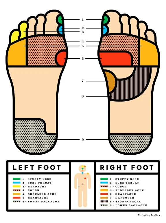 How to Give a Reflexology Foot Massage A Cup of Jo