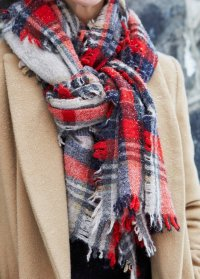 Three Ways to Tie a Scarf | A Cup of Jo