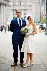 City Hall Weddings | A Cup of Jo