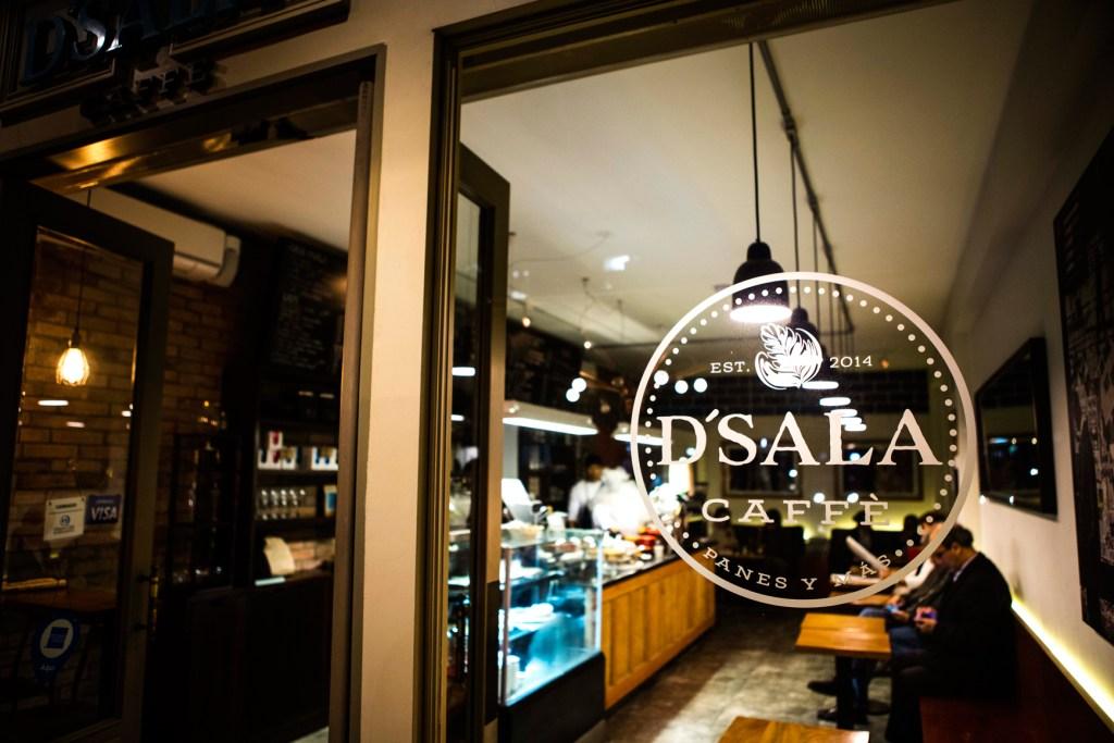 D'Sala Caffe, para amantes de um bom café.