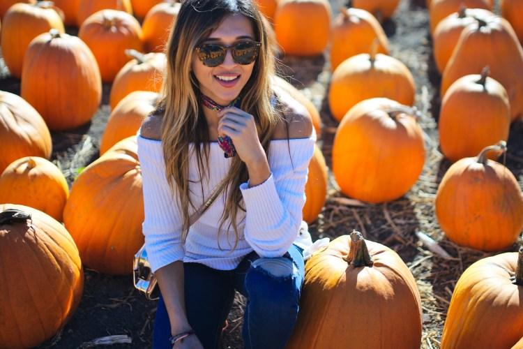 cuppajyo_travel_fashion_lifestyle_blogger_spiritualgangster_ministryofstylethelabel_offtheshouldersweater_tieks_pumpkinpatch_6